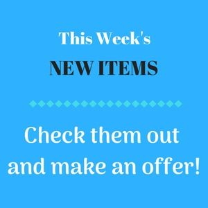 Other - New items just posted this week! Check it out!